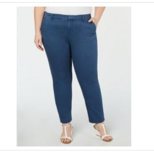 3/$30 Style & Co Plus Mid Rise Chino Ankle Pant